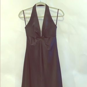 Laundry by Shelli Segal halter evening gown sz 4